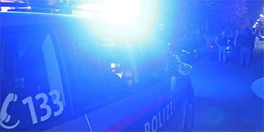 Tiroler Autodieb rast durch Eisentor