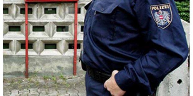 Tiroler Mädchen biss Polizisten blutig