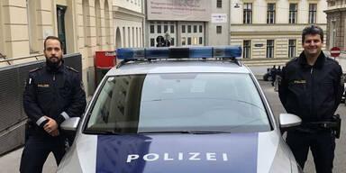 Am Weg zu zu Terroreinsatz: Polizisten retten 51-Jährigem das Leben