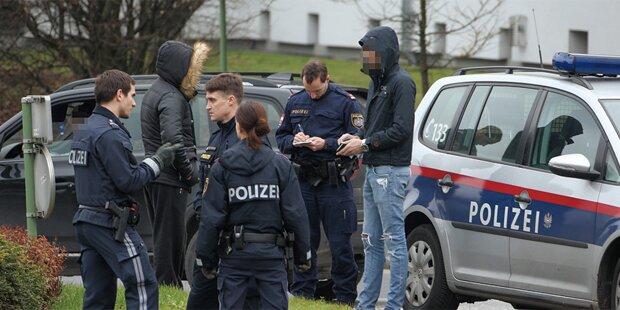 Betrunkener Asylwerber verletzt Polizisten in Wien