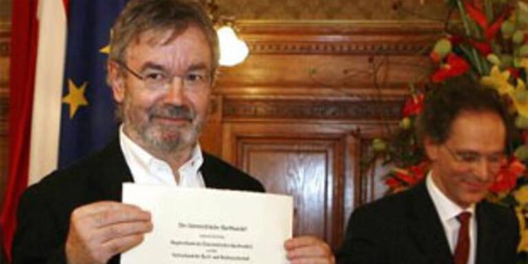 Pollack erhielt den Ehrenpreis des heimischen Buchhandels