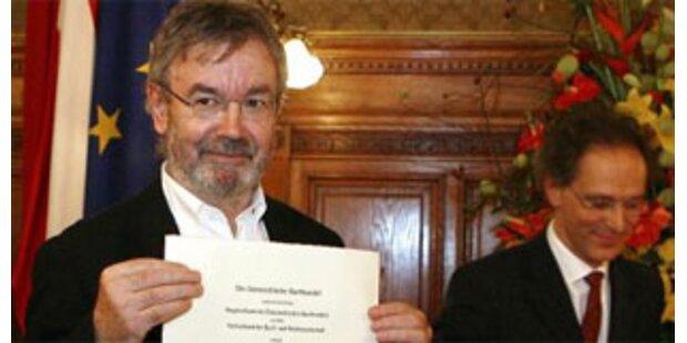 Martin Pollack (63) erhält Ehrenpreis des Buchhandels