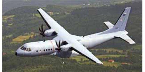 Polnisches Militärflugzeug abgestürzt