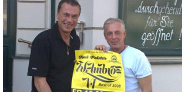 Wolfgang Ambros und Toni Polster live