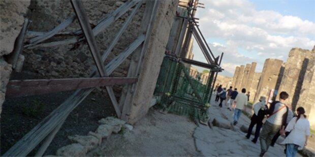 Gladiatoren-Haus in Pompeji eingestürzt