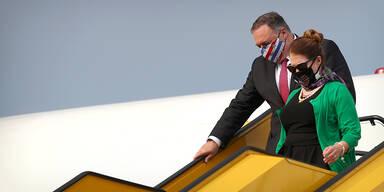 US-Außenminister Pompeo in Wien angekommen