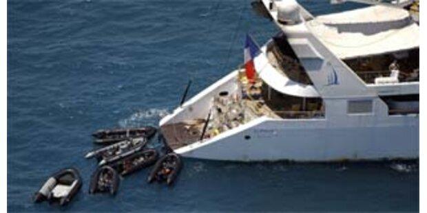 Piraten der entführten Yacht hatten