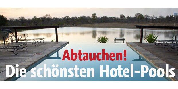 Top 10 Hotels mit coolen Pools
