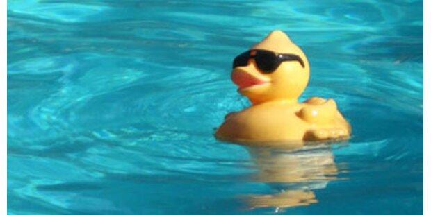 Schwanger durch Sperma im Pool