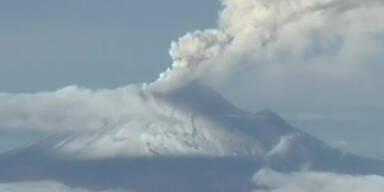 Mexiko: Popocatepetl behindert Flugverkehr