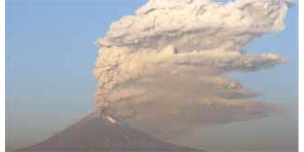Popocatepetl weiter aktiv