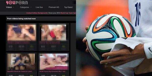 Fußball WM ist ein totaler Porno-Killer