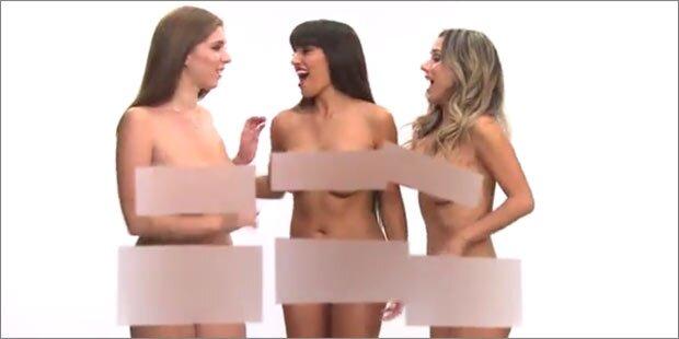 Pornostars werben für freies Internet