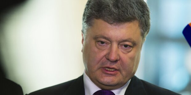 Poroschenko will mit Rebellen verhandeln