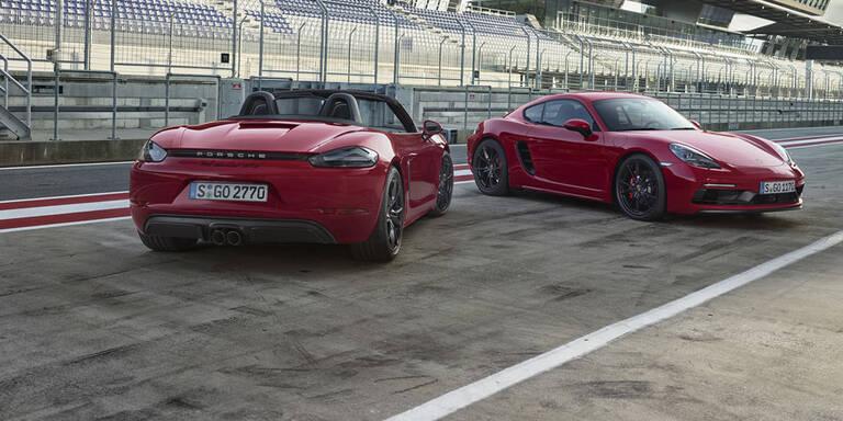 Porsche bringt Cayman und Boxster GTS