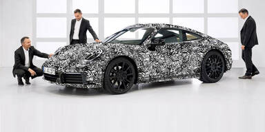 Porsche zeigt den völlig neuen 911