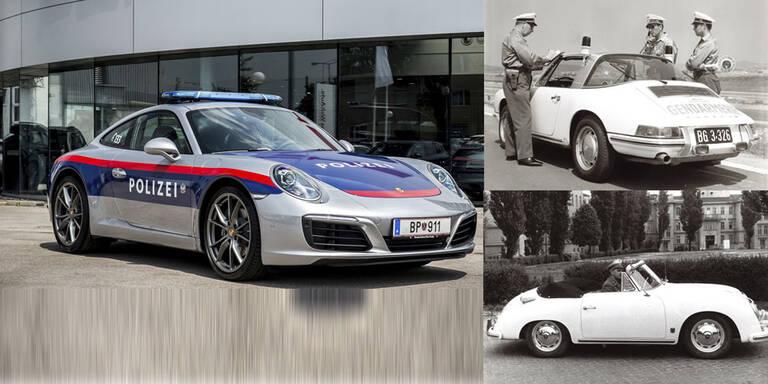 Polizei fuhr schon in den 1960ern Porsche