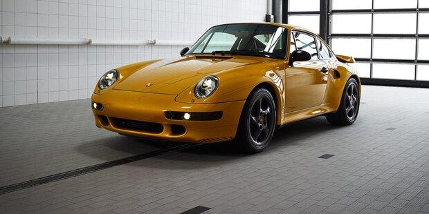 2,7 Mio. für neu aufgebauten Porsche 911 (993)