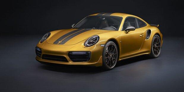 Porsche bringt exklusiven 911 Turbo S