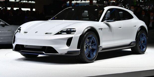 Porsche bringt einen Elektro-Crossover