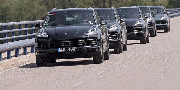 Neuer Porsche Cayenne ohne Diesel?