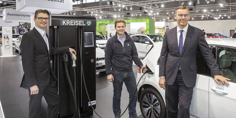 Porsche Austria setzt bei E-Autos auf Kreisel