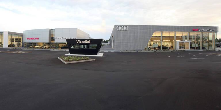Porsche Holding kauft Händler in Italien