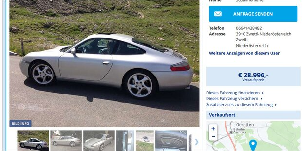 Kai Pflaumes Ehemaliger Porsche Auf Willhabenat