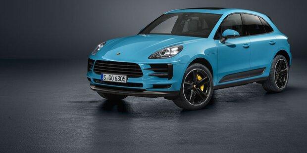 Porsche verpasst dem Macan ein Facelift