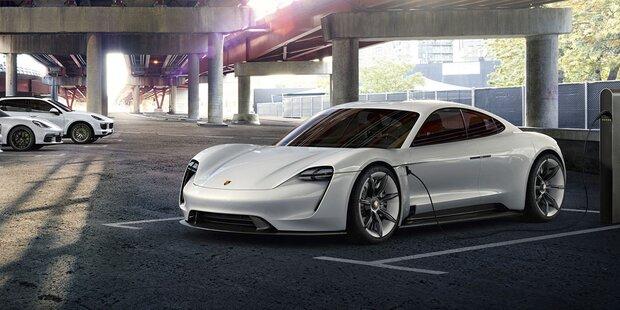 Porsche plant ganze Reihe an E-Autos