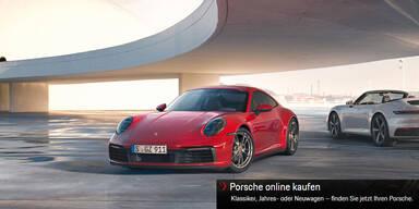 Porsche verkauft Autos jetzt auch online