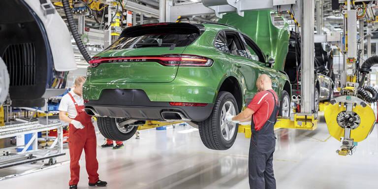 Server-Panne legte Porsche-Produktion lahm