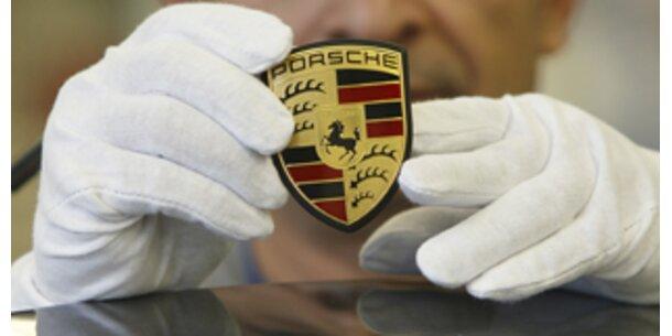 Verkaufszahlen bei Porsche eingebrochen