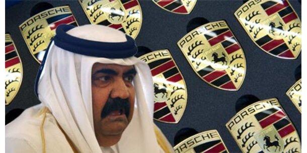Katar darf bei Porsche einsteigen