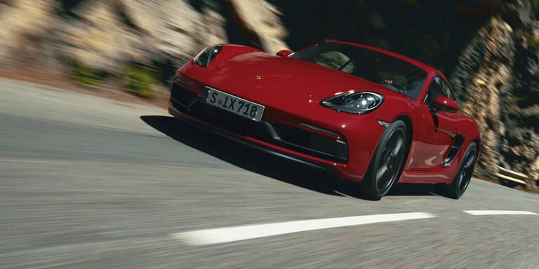 Neue Porsche 718-GTS-Reihe mit Sechszylinder