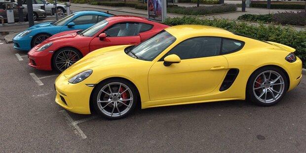 So fährt sich der Porsche 718 Cayman