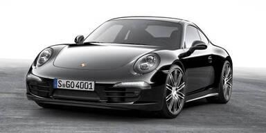 911 & Boxster kommen als Black Edition