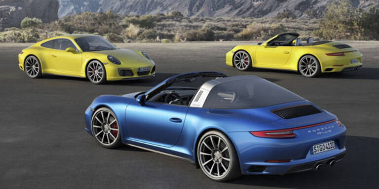 """""""Neuer"""" Porsche 911 Carrera 4 (S) mit Allrad"""