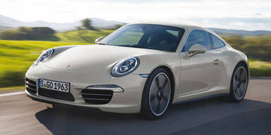 """Porsche bringt den 911 """"50 Jahre"""""""