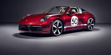 Neuer Porsche 911 Targa als Heritage Edition