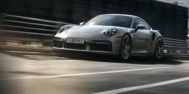 Neuer Porsche 911 Turbo S leistet 650 PS
