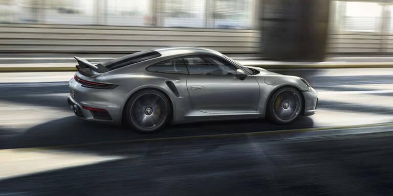 Neuer 911 Turbo S mit genialer Aerodynamik