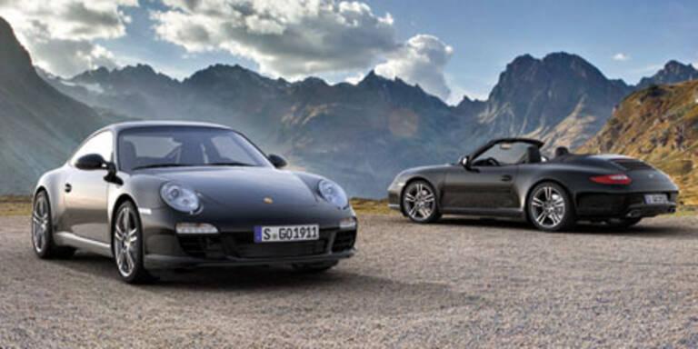 "Porsche 911 Sondermodell ""Black Edition"""