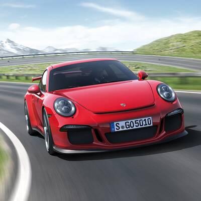 Fotos vom neuen Porsche 911 GT3