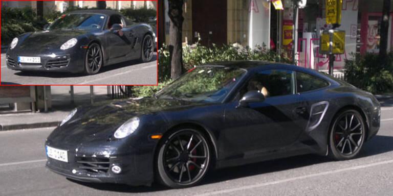 Erlkönig: Neuen Porsche 911 in Wien erwischt