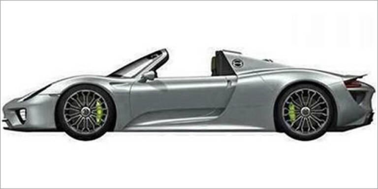 Foto vom neuen Top-Porsche aufgetaucht