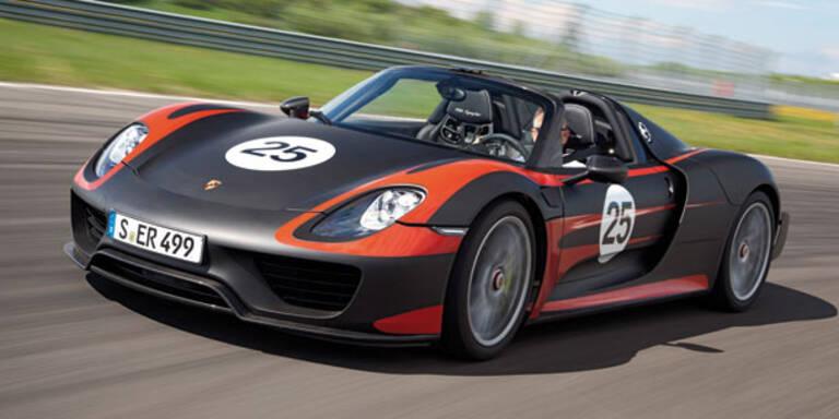 Porsche 918 Spyder wird noch stärker