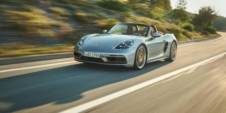 Porsche bringt den Boxster