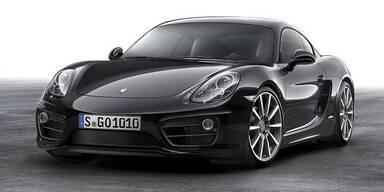 Porsche Cayman Black Edition startet