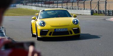 Neuer 911 GT3 mit Fabelzeit auf der Nordschleife
